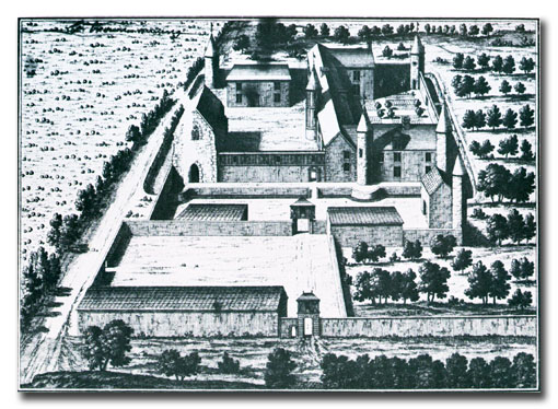 Zámek Boigny, sídlo řádového velmistra (1699)